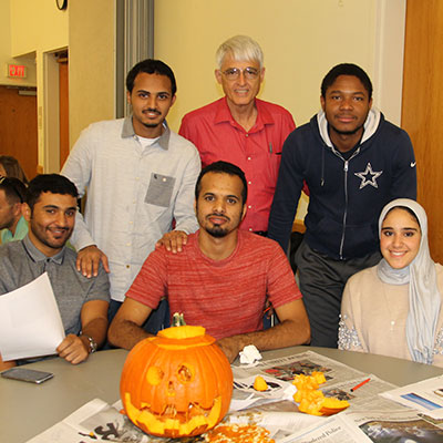 International students and the VCU community interact at Global Cafe